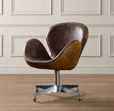 fun office chairs. such a fun office chair! and not too big chairs
