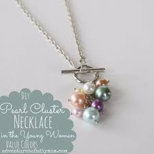 diy necklace ideas diy pearl cer necklace easy handmade necklaces with step by step