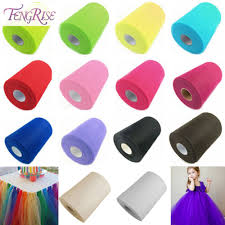 Tulle Fabric Wedding Decorations Popular Tulle Fabric Buy Cheap Tulle Fabric Lots From China Tulle