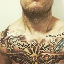 голубь со звездами тату на груди у парня добавлено иван вишневский