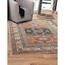 orange area rug. Ovid Orange Area Rug