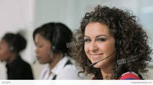 women working as customer service representatives in call center alt video women working as customer service representatives in call