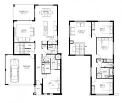 4 bedroom floor plans. House Plans 4 Bedroom 2 Story Home For Entertaining House. 3 Within Sample Floor R