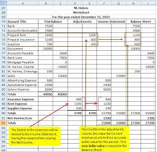 Ledger Example Accounting An Introduction General Ledger Trial Balance
