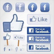 Like Us On Facebook Vector 10 Facebook Buttons Free Psd Eps Vector Format Download Free