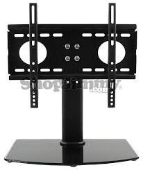 Tv stand and mount Walmart Shopjimmystand2632bbfrontjpg Shopjimmy Universal Tv Standbase Wall Mount For 26