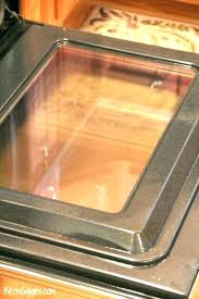 clean glass oven door creative images and between replacement cleaning glue collection cl