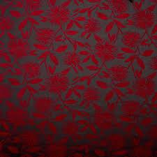luxury soft fl swirl chenille flower upholstery sofa curtain