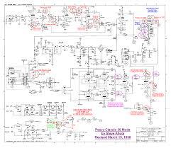 blue guitar schematics peavy classic 30 schematic 1998 mods drawn in