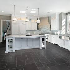 Kitchen Floor Vinyl Tiles Kitchen Sheet Vinyl Kitchen Flooring With Rhino Champion Argento