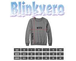 Size Chart Sweatshirt Grunt Style Shirts