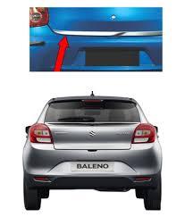 Baleno Back Light Price Carsaaz Dicky Chrome Garnish For Maruti Baleno