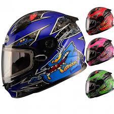 Gmax Gm49y Alien Youth Snowmobile Helmets