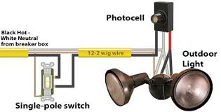 how to install and troubleshoot photo eye photocell switch wiring diagram at Wiring Diagram For Photocell Light