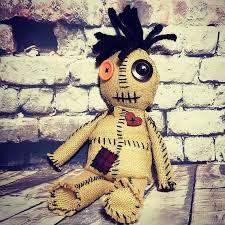 creepy cute voodoo doll goth horror