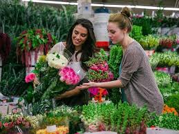 valentine s day at the la flower district