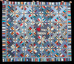 A Memory Quilt Made of Clothes | Quilts By Jen & A Custom Memory Quilt For Daddy's Family Adamdwight.com