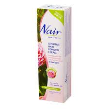 nair sensitive hair removal cream 100ml