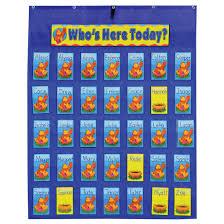 Attendance Pocket Chart By Carson Dellosa