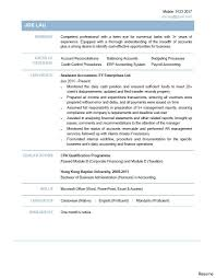 Sample Resume Accounting Assistant Resume Online Builder