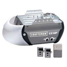 sears garage door remoteCraftsman 12 HP Garage Door Opener Chain Drive With 2 Remotes