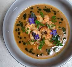 Scottish langoustine bisque ...