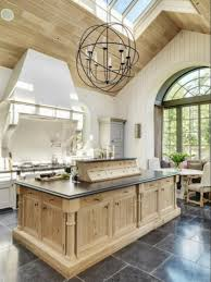 island chandelier lighting. Chandelier Kitchen Island With Foucault Orb Lighting Photos H