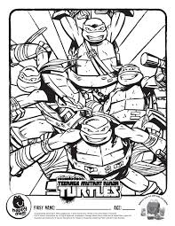 Small Picture New TMNT Coloring Pages GetColoringPagescom