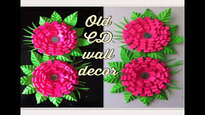 best out of the waste old cd reuse old cd ribbon craft ideas
