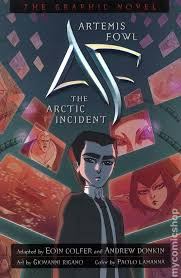 artemis fowl the artic incident tpb 2009 disney hyperion the graphic novel