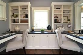 Home Office Ideas Functional Neutral Home Office Designs Ideas For