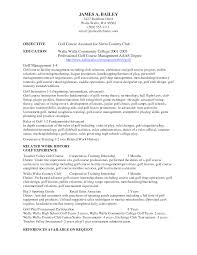 resume examples college golf resume template objective education related  work history golf experience references available -