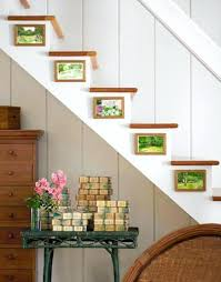 picture frames on staircase wall. Stairway Wall Decorating Ideas Staircase Modern Basement . Picture Frames On