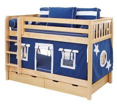 cool bunk bed fort. Boys\u0027 Play Fort Bunk Bed By Maxtrix Kids (navy Blue, White On Natural) (700.1) Cool Y