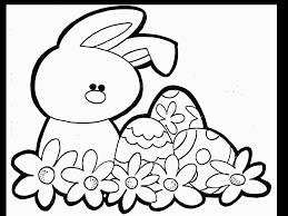 easter clipart to color.  Color Easterbunnycartoon  Coloring Kids Inside Easter Clipart To Color O