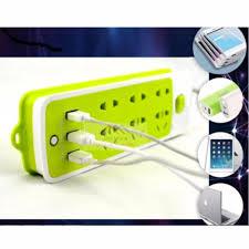 Shop bán Ổ cắm điện thông minh đa năng 6 phích cắm tích hợp 3 cổng sạc USB  2A giá rẻ, đáng mua nhất Tháng 11/2020