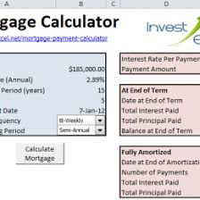 Free Home Mortgage Calculator For Excel 33676553817 Mortgage