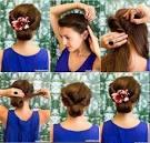 Сделать простую прическу на длинные волосы