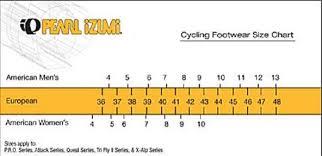13 Methodical Pearl Izumi Shoe Sizing