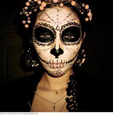 lights the coolest day of the dead sugar skull makeup looks beautylish