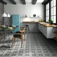 black and white kitchen floor tiles boulevard patterned black and white floor tiles s black