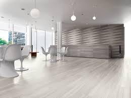 Reception area in modern building