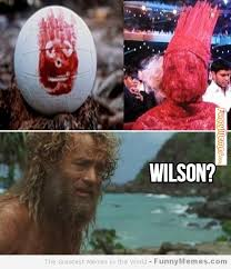 FunnyMemes.com • Funny memes - [Lady Gaga in Cast Away] via Relatably.com
