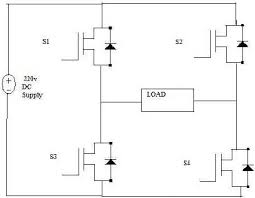 introduction of igbt based single phase pwm inverter circuit diagram of power circuit