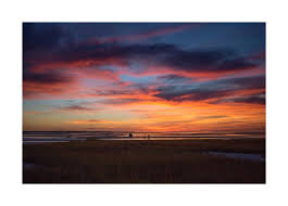 Skaket Beach Orleans Ma Tide Chart Sunset At Skaket Beach On Cape Cod Bay Fine Art Print Wall Art