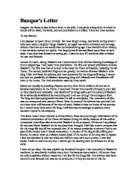 lady macbeth essays essay about lady macbeth gxart discuss the  a letter from lady macbeth to her husband gcse english marked imagine that banquo also writes