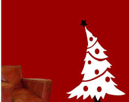 Wall Decal Scripture Christmas Tree Vinyl Wall Decal 22134 On LuullaChristmas Tree Decals