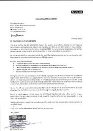 Self Recommendation Letter New Letter Of Recommendation From FaureciaSRINIVASANAbishek