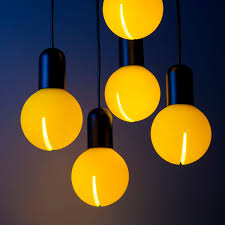 yellow pendant lighting. Pendant Lamp / Contemporary Silicone Yellow Lighting Y