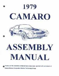 complete 1979 chevrolet camaro factory assembly instruction manual 1978 camaro wiring diagram at 1979 Chevrolet Camaro Wiring Diagram